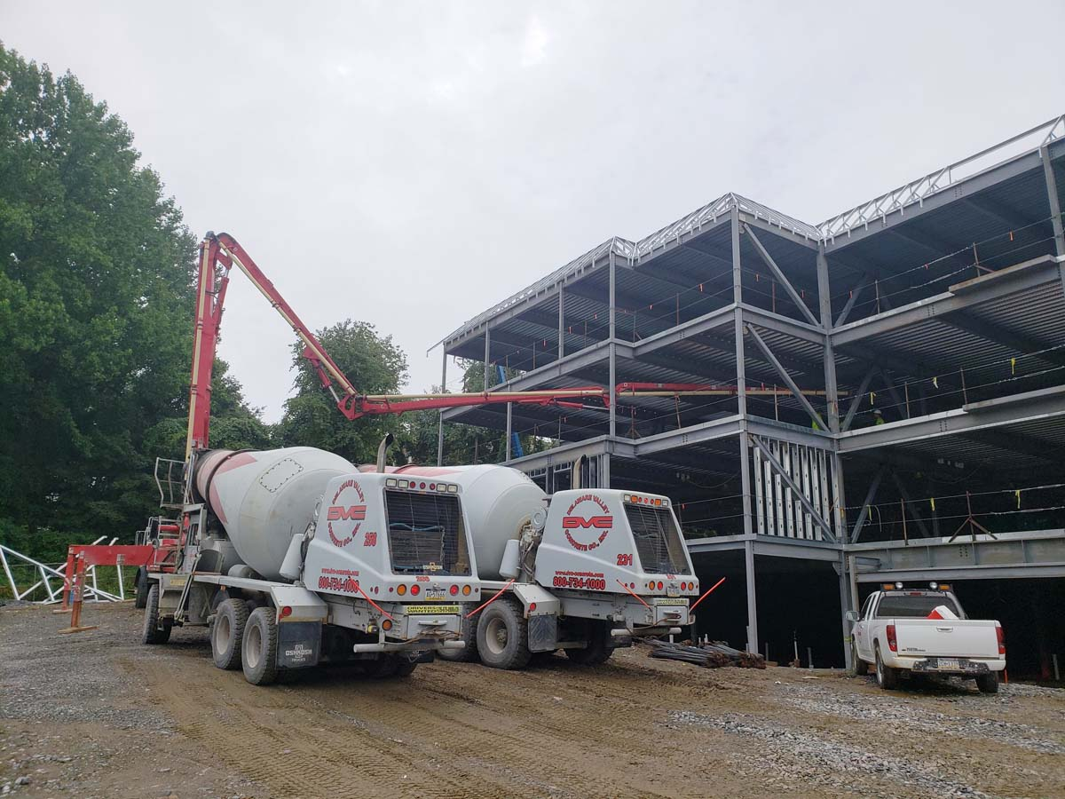 Commercial concrete project-chaddsford